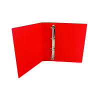Red 40mm 4D Presentation Ring Binder (Pack of 10) WX01330