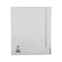 A4 White 1-31 Polypropylene Index WX01357