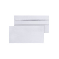 Envelope DL 80gsm Self Seal White (Pack of 1000) WX3454