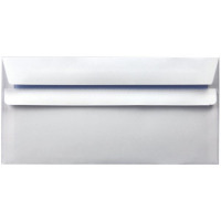 Envelope DL 90gsm Self Seal White (Pack of 1000) WX3480