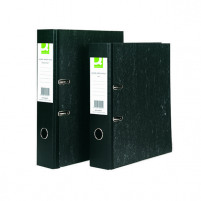 Q-Connect Black A4 Lever Arch File (Pack of 10) KF20001
