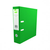 Q-Connect Green A4 Polypropylene Lever Arch File (Pack of 10) KF20022