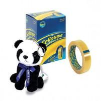 Sellotape 24mm x 66m Golden Tape Pack of 6 2028242