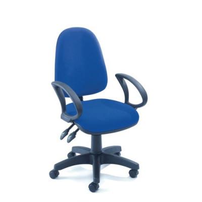 Jemini High Back Tilt Operator Chair Blue KF50177