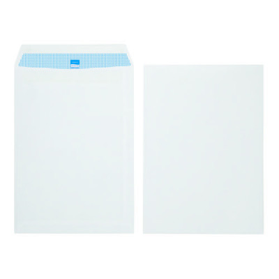 Initiative Envelope Pocket C4 Self Seal 90g White Pack 250