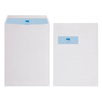 Initiative Envelope Pocket C4 Self Seal 90g White Window Pack 250