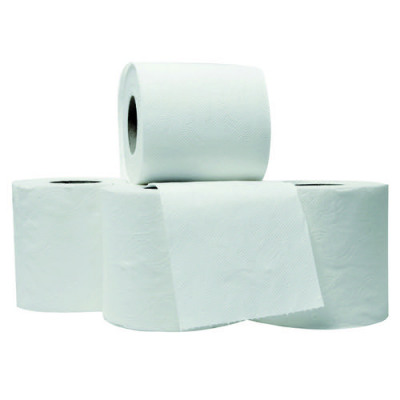 Initiative Toilet Roll White 320 Sheets (100x 95mm) Per Roll Pack 36