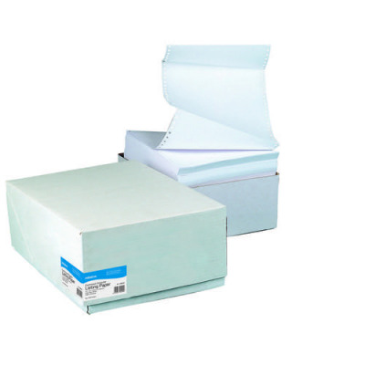 Initiative Listing Paper 1 Part Plain micro perferations A4 70gsm Pack 2000