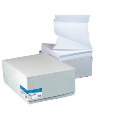 Initiative Listing Paper 11x241mm 1 Part Plain Micro Perferations 60gsm Pack 2000