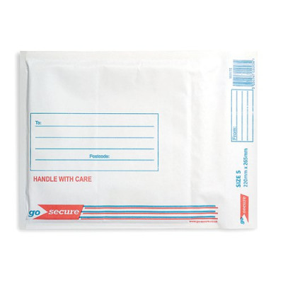 Pack of 100 HF20209 Strong Polythene Mailing Bag 235x320mm Opaque