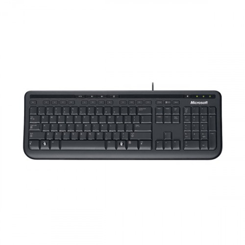 microsoft wired keyboard 600 black anb 00006. Black Bedroom Furniture Sets. Home Design Ideas